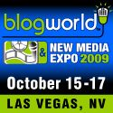 BlogWorld & New Media Expo '09 logo