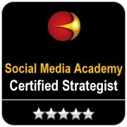 Certified Social Media Strategist badge