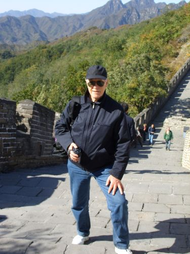 At the Great Wall on a Sunny October Day