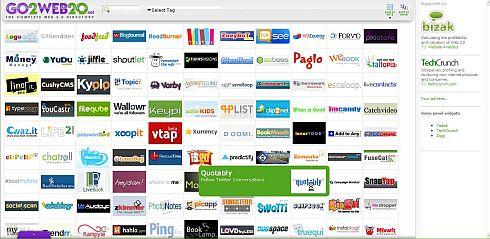 GO2WEB20 a Fascinating Web 2.0 Directory