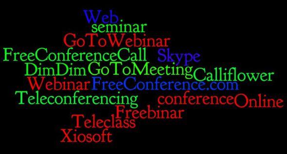 Wordle: Online conferencing