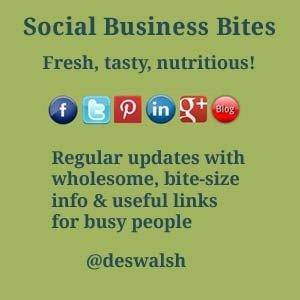 Social Business Bites - fresh, tasty, nutritious!