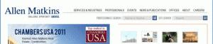 Allen Matkins web site