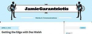 Jamie Garantziotis blog