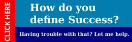 how do you define success copy