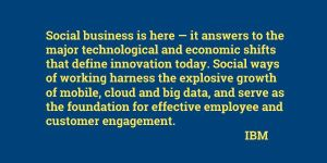 Social Business defined - IBM