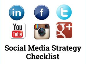 Social media strategy checklist