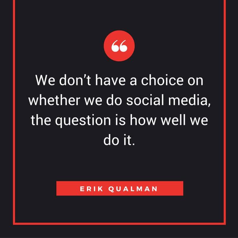 Erik Qualman on social media